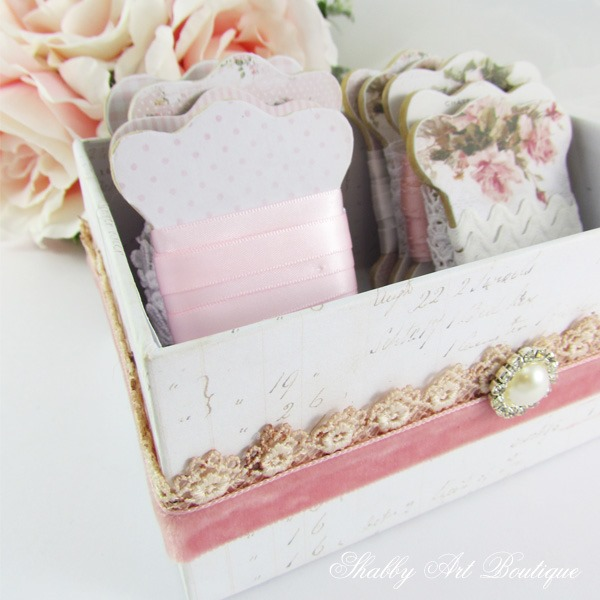 How to make beautiful vintage themed ribbon boards by Shabby Art Boutique