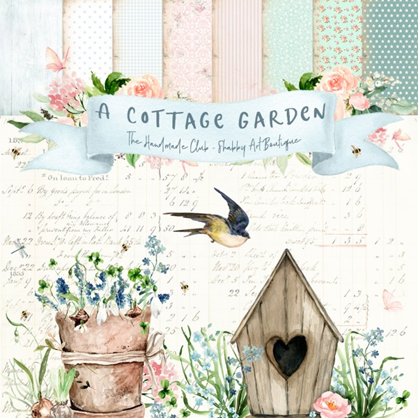 The Handmade Club July Kit - A Cottage Garden - Available through Shabby Art Boutique