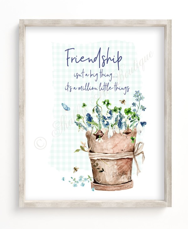 Printable Cottage Garden Inspirational Quotes from Shabby Art Boutique