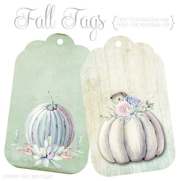 Newsletter - fall tags