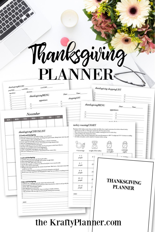 Thanksgiving Planner