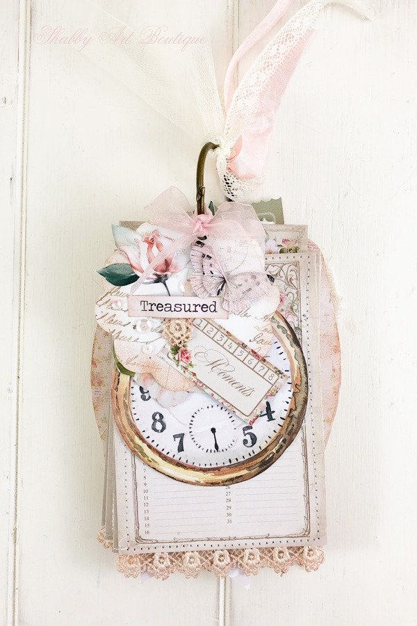 A Moment in Time Tag Flip 2 - December in the Handmade Club by Shabby Art Boutique
