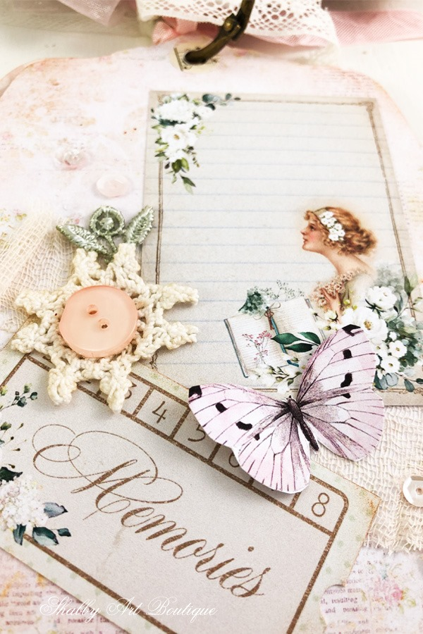 A Moment in Time Tag Flip 4 - December in the Handmade Club by Shabby Art Boutique