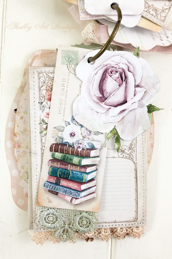 A Moment in Time Tag Flip 7 - December in the Handmade Club by Shabby Art Boutique