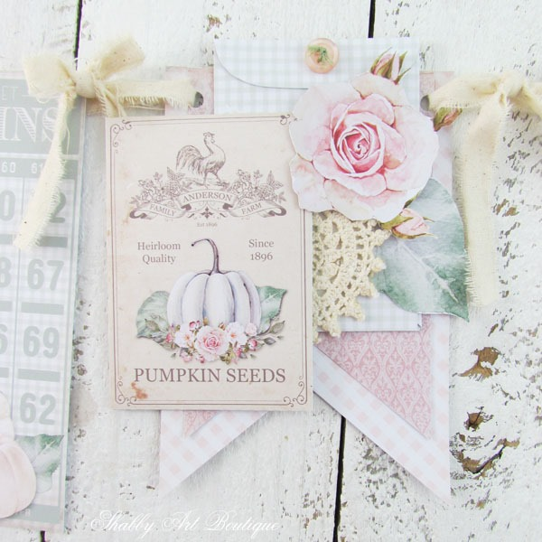 Printable shabby farmhouse fall banner by Shaby Art Boutique