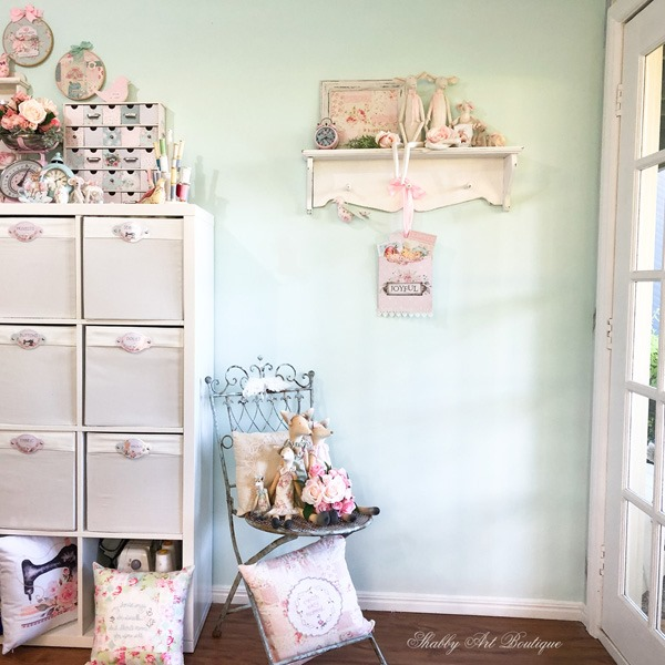 Entrance to the Shabby Art Boutique craft room - Easter
