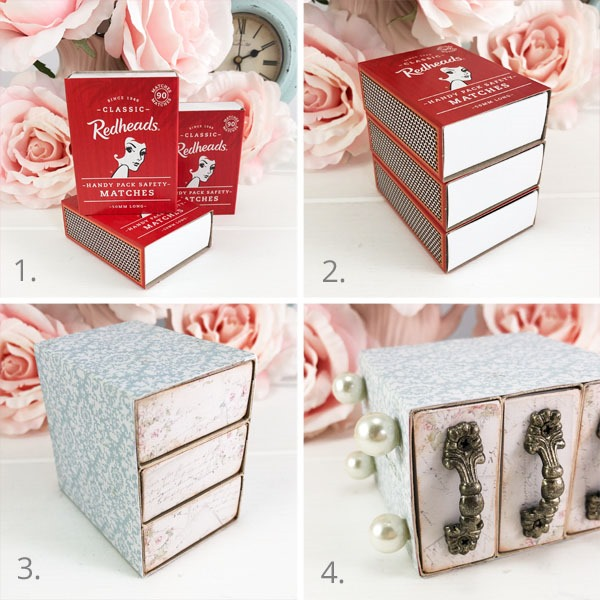 Tutorial for how to make a Victorian gift box by Shabby Art Boutique