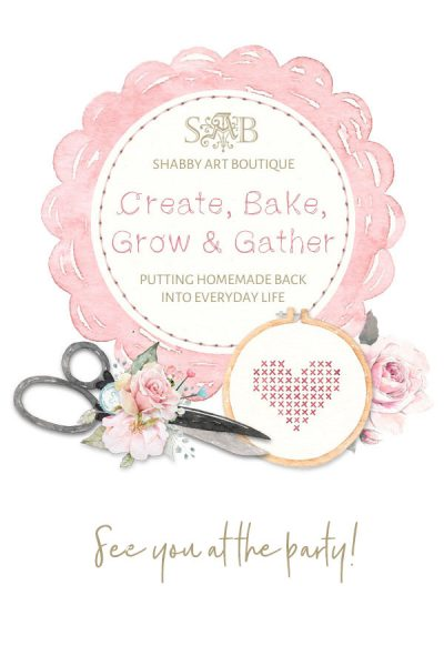 Create, Bake, Grow & Gather Party