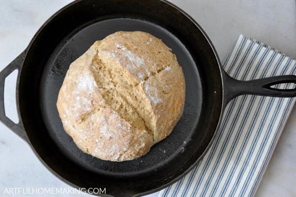 irish-soda-bread-cast-iron-skillet