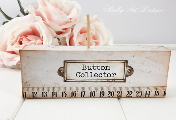 How to make Betty Buttons - a touch of whimsy at Shabby Art Boutique